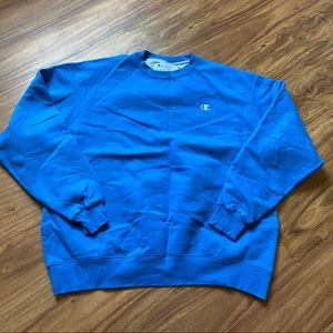 Vintage royal blue champion sweatshirt